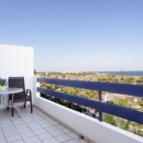 Bright penthouse with stunning seaview and private roofterrace
